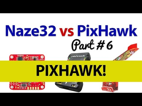 Testing the Pixhawk in a Flying Wing Part #6 - Naze32 V's Pixhawk for Flying Wings