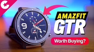 Huami Amazfit GTR Smartwatch Unboxing & Overview - IS IT WORTH BUYING?