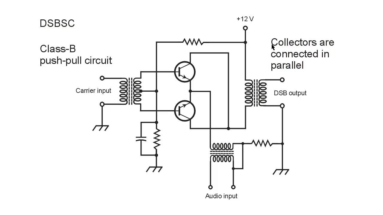 single balanced modulator