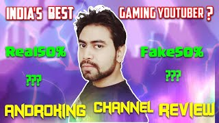 🔥ANDROKING Channel Review🔥|| Best Indian Gaming Channel🤔|| #ReviewYT #2