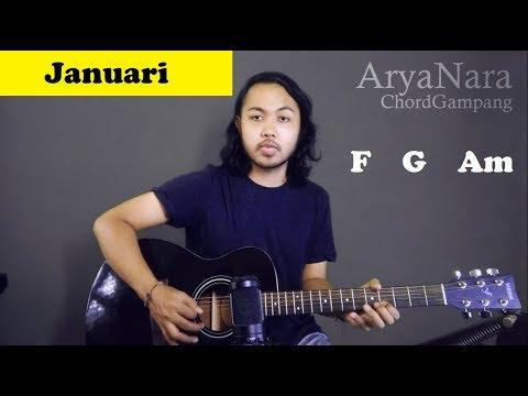 Chord Gampang (Januari - Glenn Fredly) by Arya Nara (Tutorial Gitar) Untuk Pemula