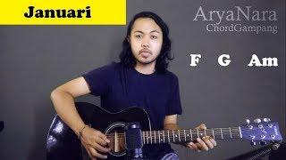 Download lagu Chord Gampang (Januari - Glenn Fredly) by Arya Nara (Tutorial Gitar) Untuk Pemula