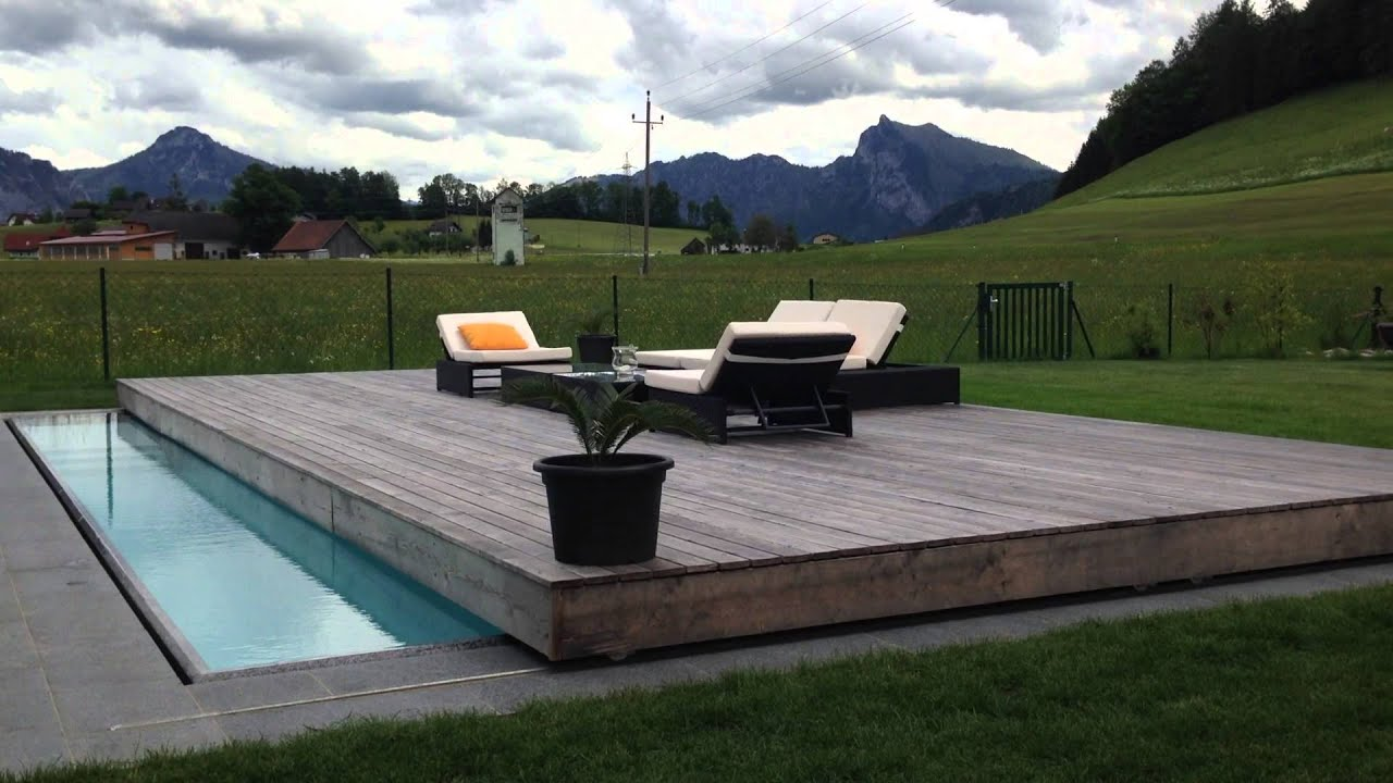 spie berger bau gmbh vollautomatische poolabdeckung youtube. Black Bedroom Furniture Sets. Home Design Ideas
