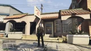 Grand Theft Auto 5 Online Scream Ghostface Outfit / Look tutorial