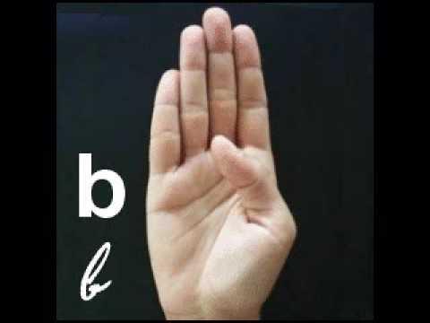 Alfabeto em Libras. - YouTube