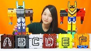 파워레인저 애니멀포스 장난감 DX타이탄킹 DX비스트킹 큐브 변신 합체로봇 Doubutsu Sentai Zyuohger Toys