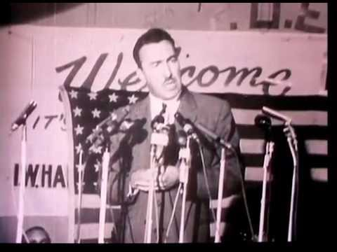 Rev. Adam Clayton Powell Jr. What's In Your Hand speech (1967?) with CLOSED CAPTIONS
