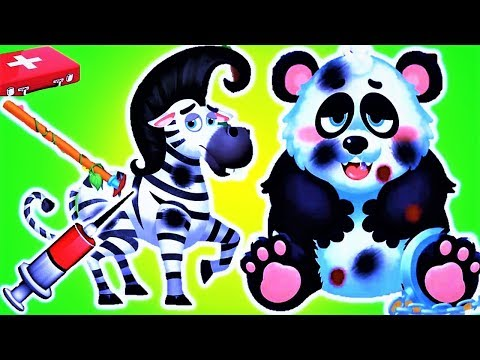Fun Animal Care Kids Games - Zebra Care and Panda Treatment - Jungle Doctor by LiBii  best baby game