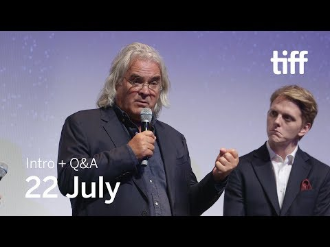 22 JULY Cast and Crew Q&A | TIFF 2018