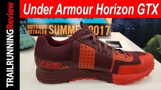 Under Armour Horizon GTX Preview - Con Gore-tex Invisible Fit