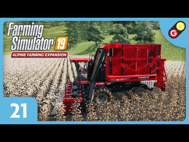 Farming Simulator 19 - Extension Alpine #21 On cultive du coton ! [FR]