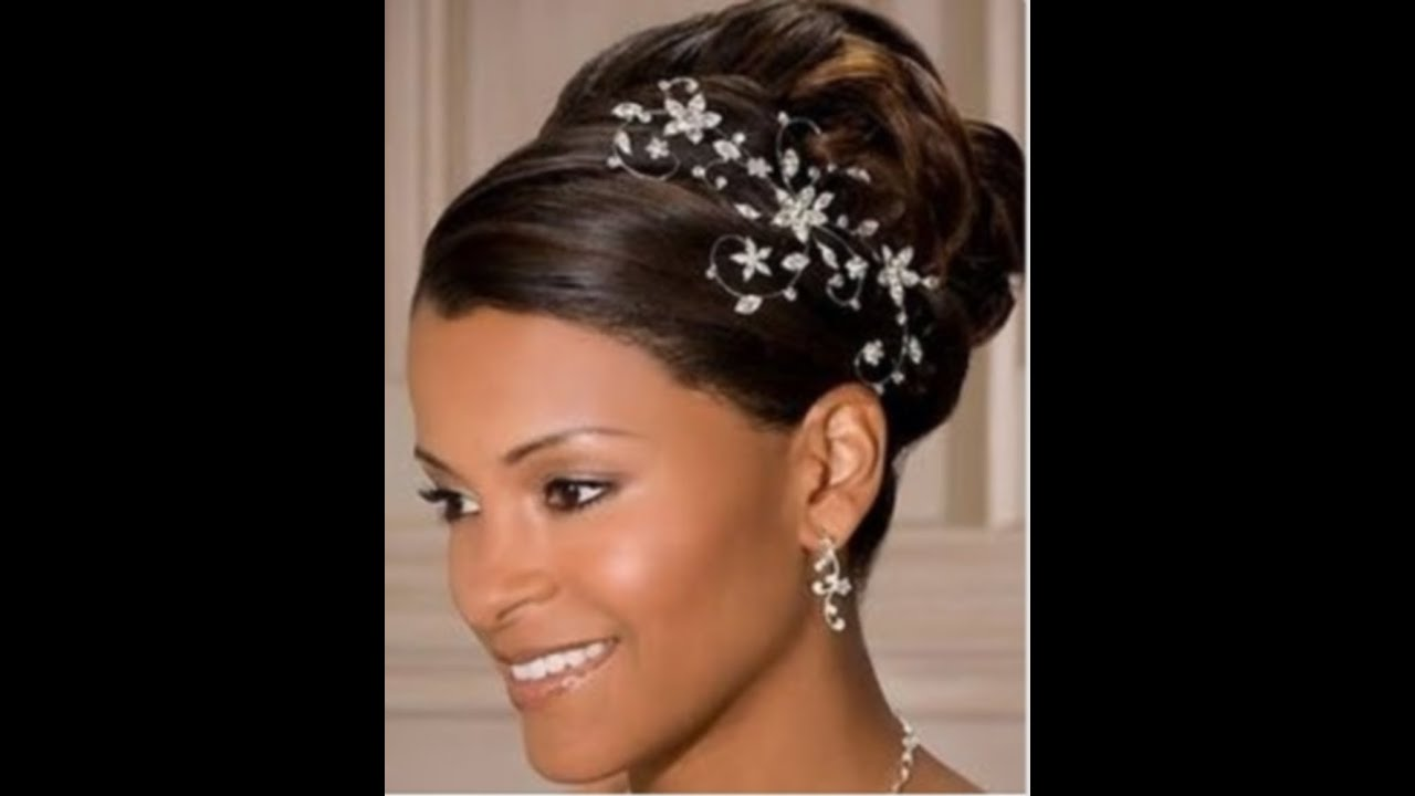 50 Wedding Hairstyles For Nigerian Brides And Black African Women (UPDATED) - YouTube