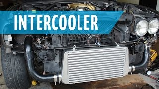 Turbo Bmw E30 Build: Part 14 | Front Mount Intercooler & Piping