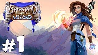 Прохождение Braveland Wizard: Часть 1 - Диана