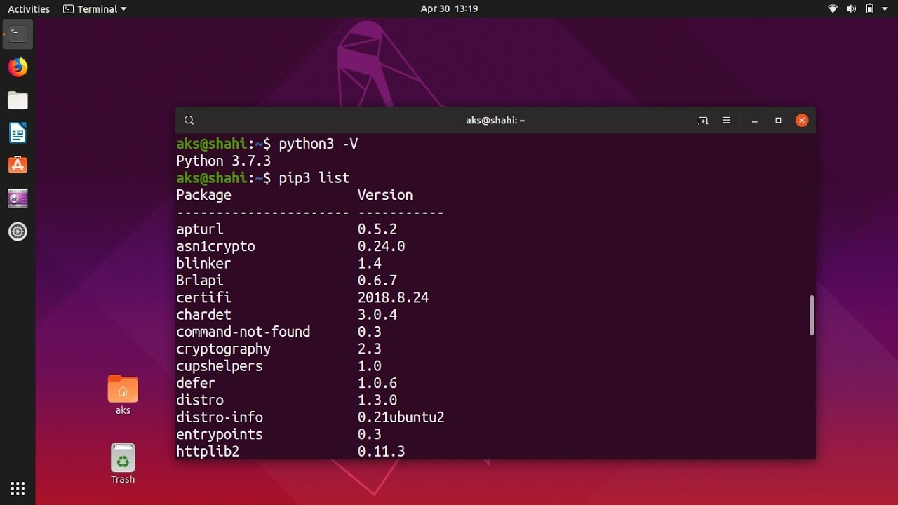 How to Install Python 3 7 & pip 3 on Ubuntu 19 04