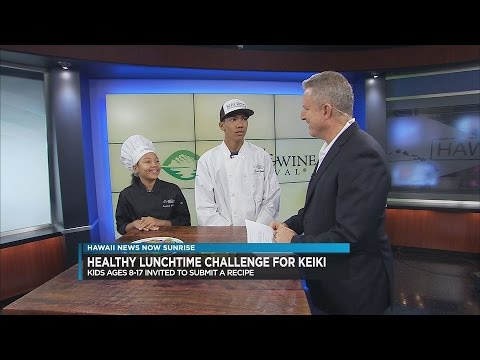 Hawai'i Gas Presents Healthy Lunchtime Challenge for Keiki