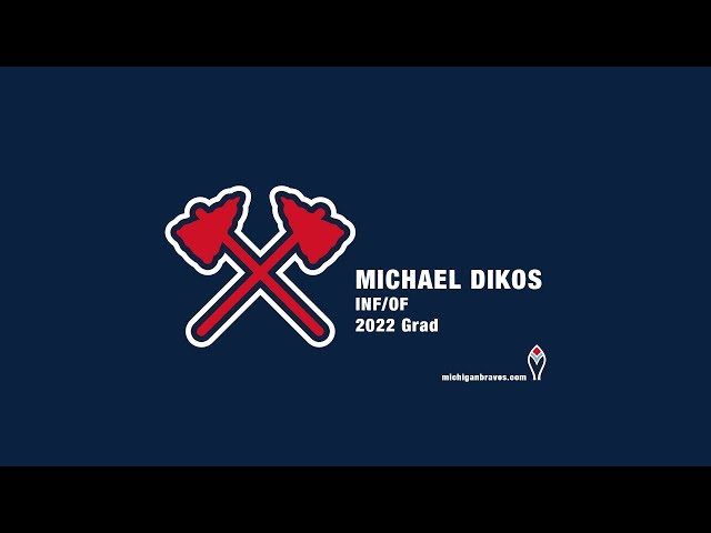 Michigan Braves Showcase 2020 Michael Dikos