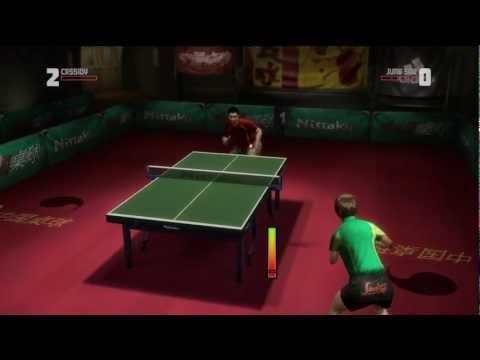 Rockstar Table Tennis - Serving Aces Cassidy vs Jung Soo (Expert)