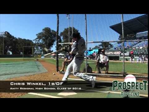 Chris Winkel, 1b_OF, Amity Regional High School, Swing Mechanics at 200 FPS