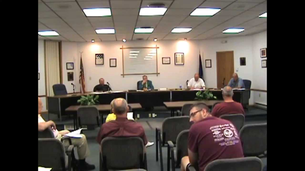 Rouses Point Village Board Meeting two  7-6-15