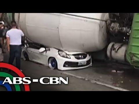 TV Patrol: Tatlong bata, kabilang sa mga nadaganan ng cement mixer