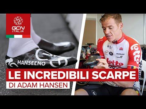 Le scarpe artigianali in carbonio di Adam Hansen | GCN Italia Tech