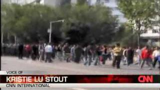 Uyghurs gets Bullets - Han Chinese gets TearGas (CNN)