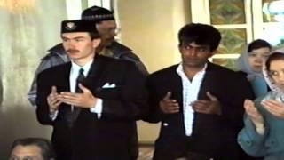 عيد الأضحى . Курбан Байрам - 1995. Первая соборная мечеть Уфа. Тукаева 48. Поздравление Таджуддина