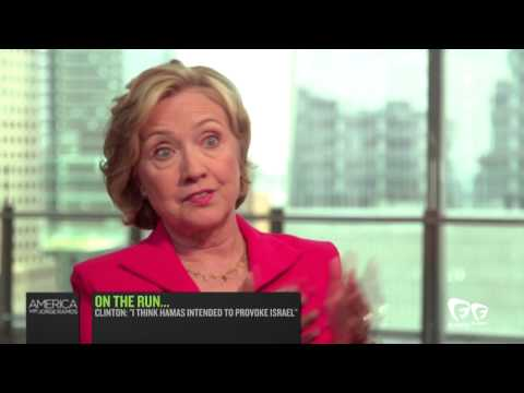 "Hillary Clinton: ""I Think Hamas Intended to Provoke Israel"""