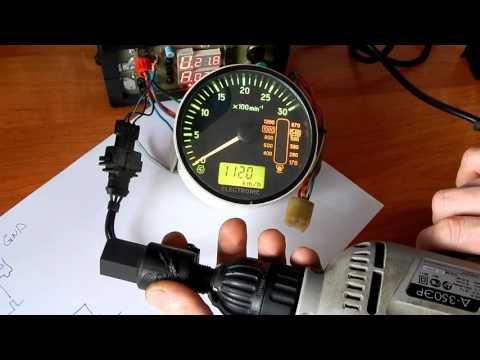 датчик для автомобильного тахометра