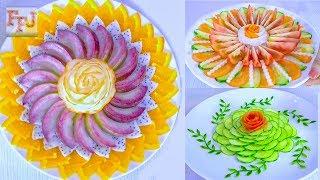 Cover images 5 Beautiful Fruit & Vegetable Arrangements   Food Art Ideas & Hacks