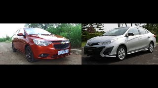 Auto Focus | Head to Head:  TOYOTA VIOS 1 3 E CVT VS CHEVROLET SAIL 1 5 LTZ