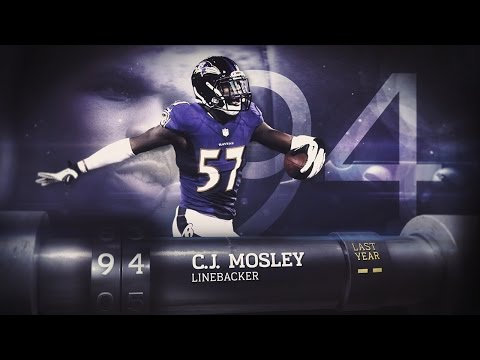 #94 C.J. Mosley (LB, Ravens) | Top 100 Players of 2015