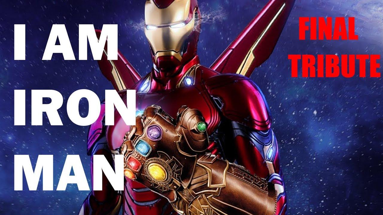 "Tony Stark | Iron Man Final Tribute - ""I am Iron Man"" |"