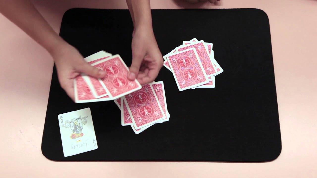 tour de magie facile jeu de carte