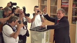 Berisha faces strong challenge in Albanian elections