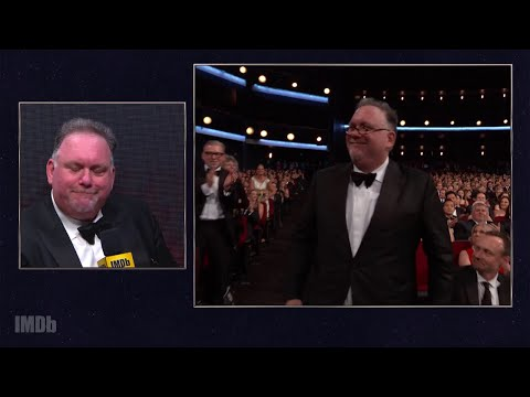 """""""The Handmaid's Tale"""" Writer Bruce Miller Celebrates Hulu's First Emmy Win 