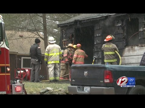 A 'boom' led to Glocester fire, says couple
