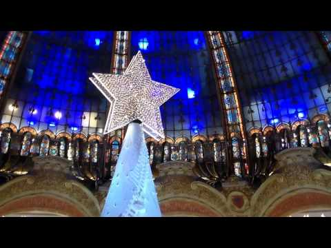 Noël aux Galeries Lafayette, Paris - Christmas