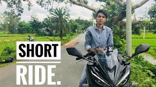 SHORT Ride || BASULIA || HONDA CBR 150R MATTE BLACK..