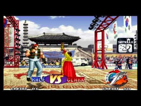 The King of Fighters 97 Ralf Jones Desperation Moves