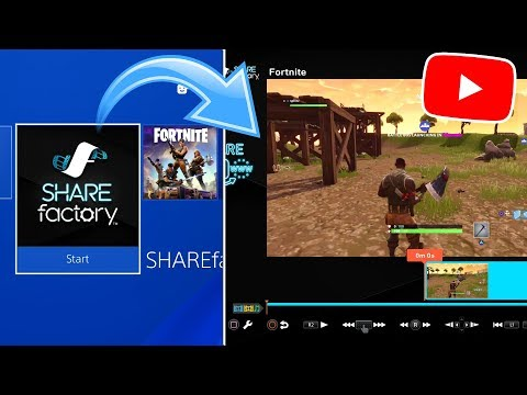 How to EDIT Videos on PS4! (UPLOAD TO YOUTUBE) (EASY METHOD) 2018