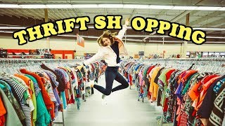 thrift shopping with Marla!