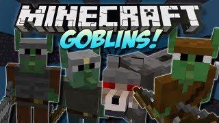 Minecraft   GOBLINS! (Tiny Green Rebels!)   Mod Showcase [1.5.1]
