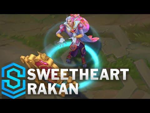 Sweetheart Rakan Skin Spotlight - League of Legends