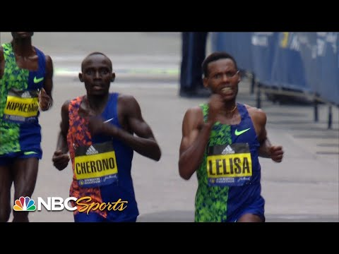 St. Pierre - 2019 Boston Marathon Has An Epic Photo Finish
