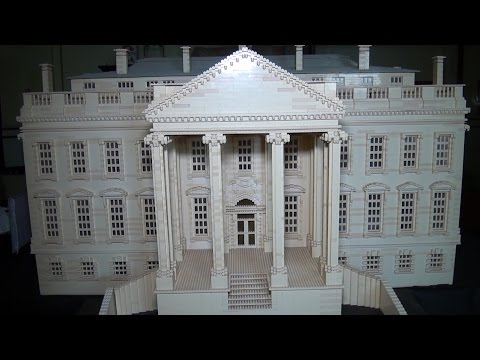 Giant LEGO White House