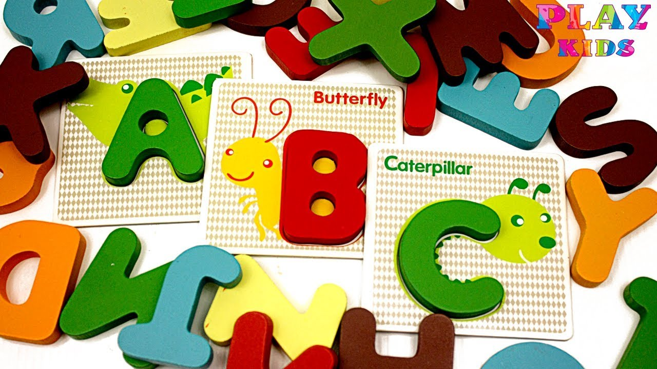 Animal alphabet for kids. Study ABC song with animals