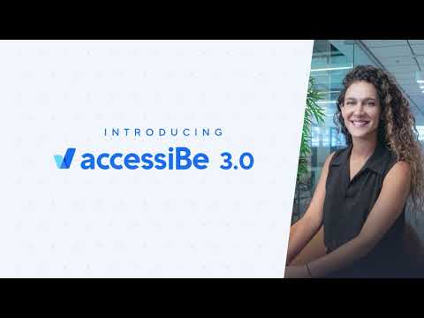 accessiBe | Version 3.0 - Introducing Accessibility Profiles