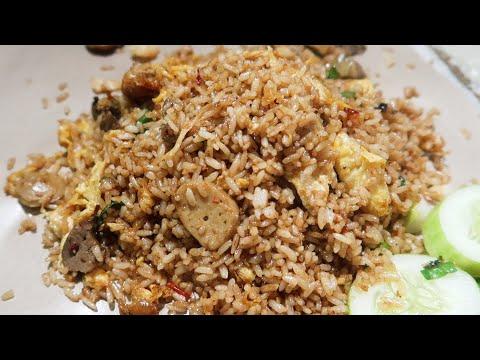 nasi-goreng-ati-ampela-ayam-dan-telur-acak---indonesian-street-food-#kulinerdepok
